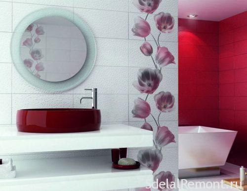 плитка для ванной в моде