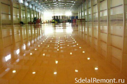 metalmetakrilatny self-leveling floor