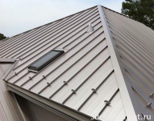 фальцевая металічныя дах