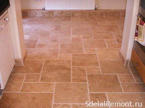 Floor tile matt