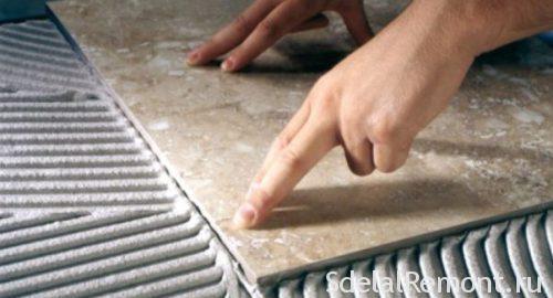 технологія укладання плитки