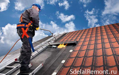 рулонныя матэрыялы для даху
