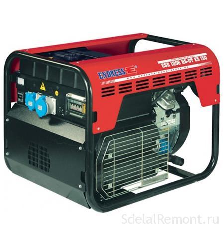 Бензиновый генератор Endress ESE 1206 DHS/A-GT ES ISO