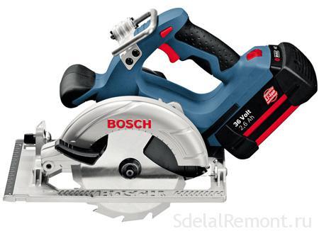 Дисковая пила BOSCH GKS 36 V-LI Professional фото