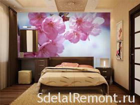 Фотообои цветы на стену фото, фотообои цветов в интерьере спальной комнаты