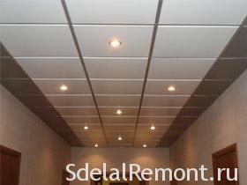 Как рассчитать подвесной потолок фото