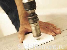 Укладка керамической плитки в ванной своими руками