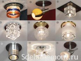 Как установить и подключить точечные светильники правильно фото