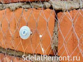 Металлическая сетка для штукатурки фото
