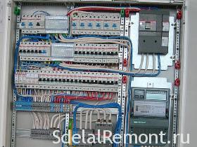 Как правильно установить и собрать щиток электрический в квартире b35d9e556b44e