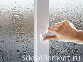 Потеют металлопластиковые окна фото