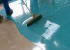 Choosing the right paint for concrete floors
