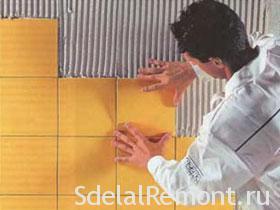 Советы по укладке керамической плитки фото