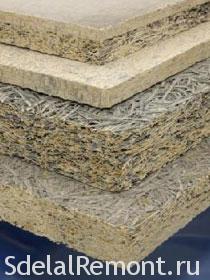 Виды звукоизоляционных материалов - Фибролит