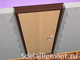 Видео как установить межкомнатную дверь самостоятельно и правильно