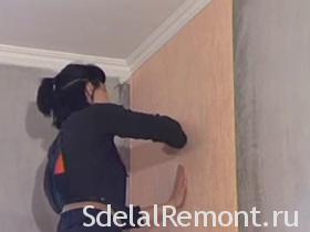Видео оклейка стен обоями, фото