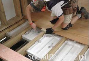Як утеплити дерев'яна підлога