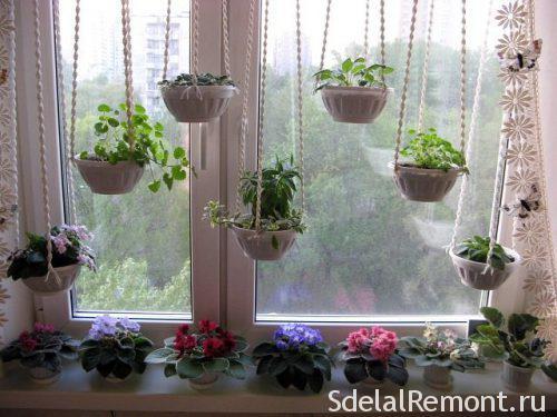 подставка под цветы под окно