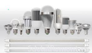 types of LED lamps
