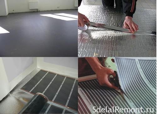 Installation of floor heating: sequence by rabot1