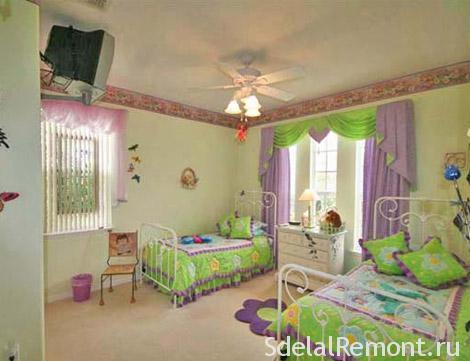 Как обставить детскую комнату фото