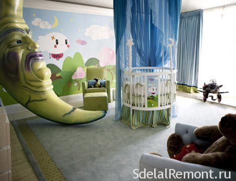 Как обустроить детскую комнату фото