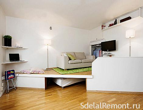 Как обставить маленькую комнату фото