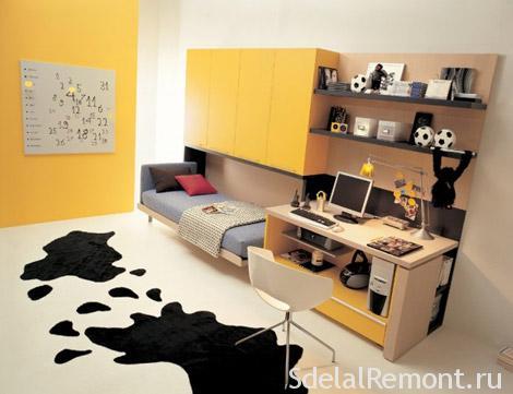 Как обустроить маленькую комнату фото