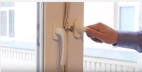 Как отремонтировать сломавшуюся ручку на пластиком окне