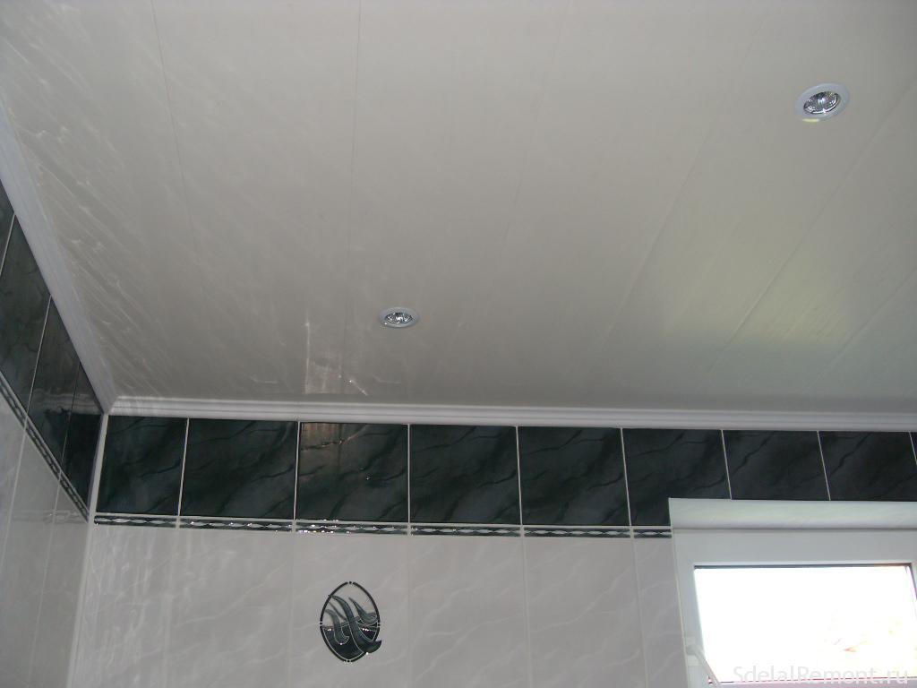 Чем можно сделать потолок в ванной комнате своими руками 8