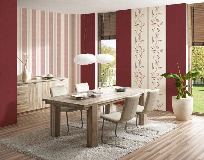 patchwork combination of wallpaper
