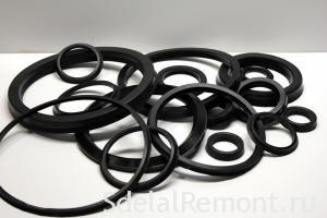A set of rubber O-rings to punch Interskol