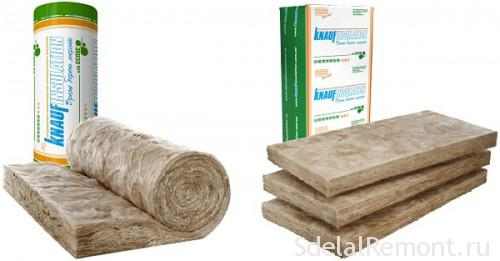 Heat- and sound insulation Knauf