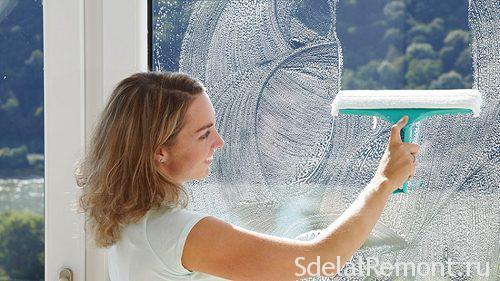 Чем мыть пластиковые окна в домашних условиях,
