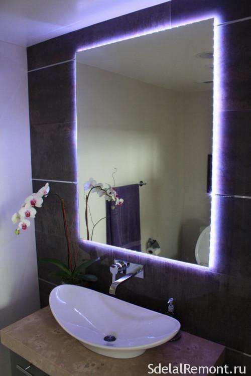 Сделай своими руками зеркало у ванную
