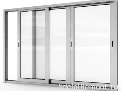 зсувні алюмінієві вікна