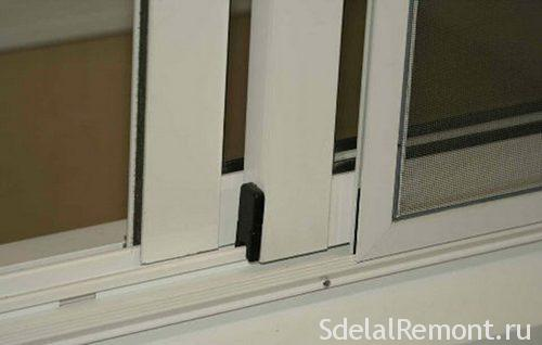 Москитная сетка на раздвижные окна