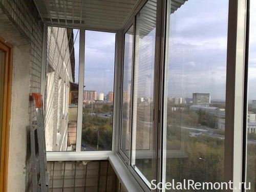 Розсувні пластикові вікна на лоджію