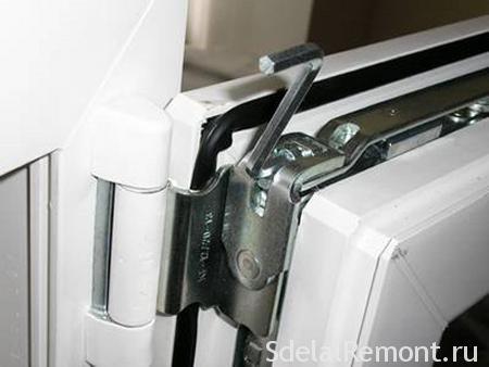 Adjustment of plastic doors yourself