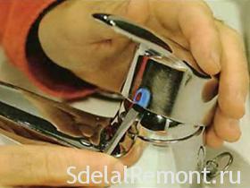 Ремонт однорычажного смесителя своими руками фото