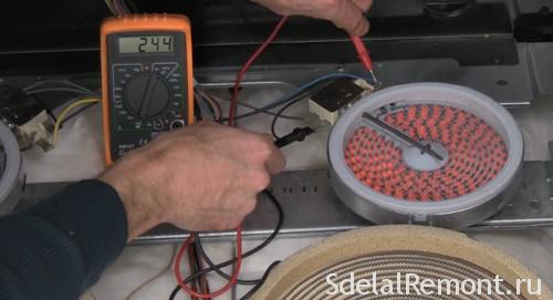 Ремонт электроплиты миле