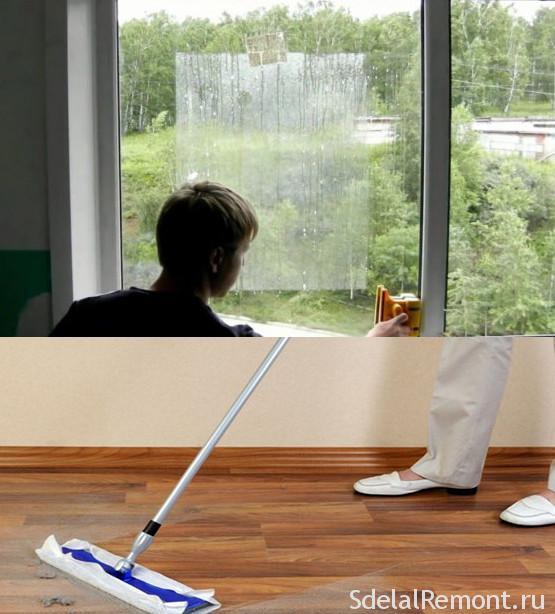 Как отмыть грунтовку со стекла и плитки и сделать профилактику