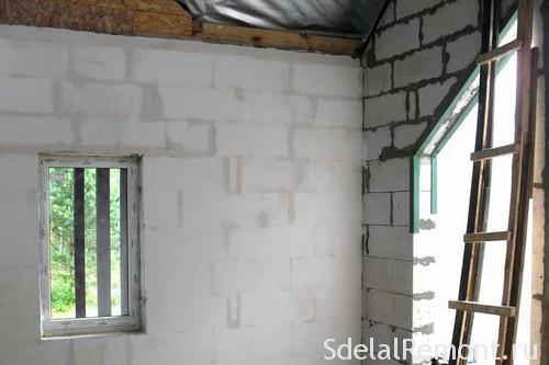 Можно ли штукатурить цементным раствором по газоблоку керамзитобетон в калининграде цена