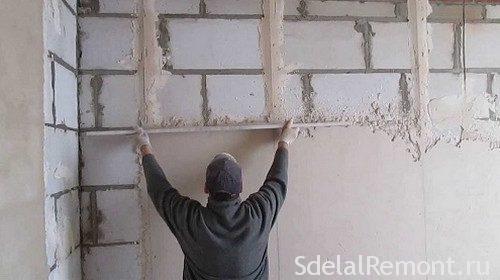 Как правильно штукатурить стены цементным раствором пеноблок цементный раствор в астрахани