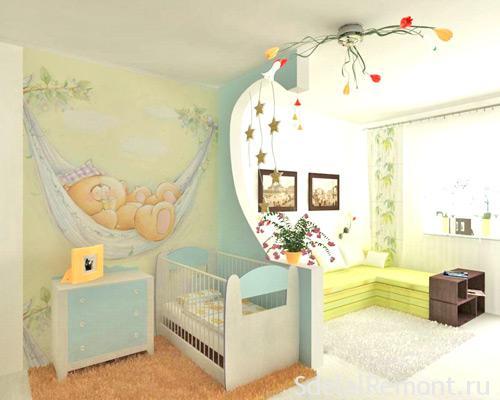 Декоративная перегородка в комнате