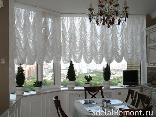 Франузские шторы