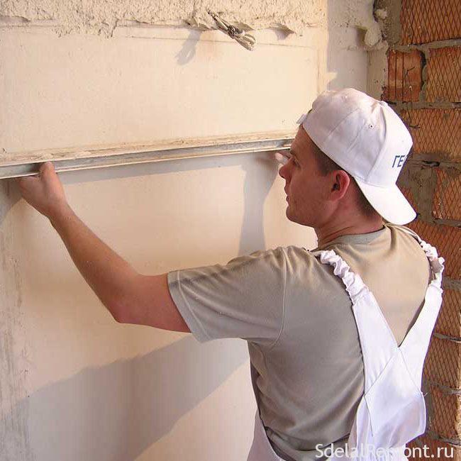 Материалы для выравнивания стен