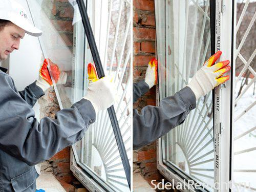 Як замінити склопакет в пластиковому вікні самостійно