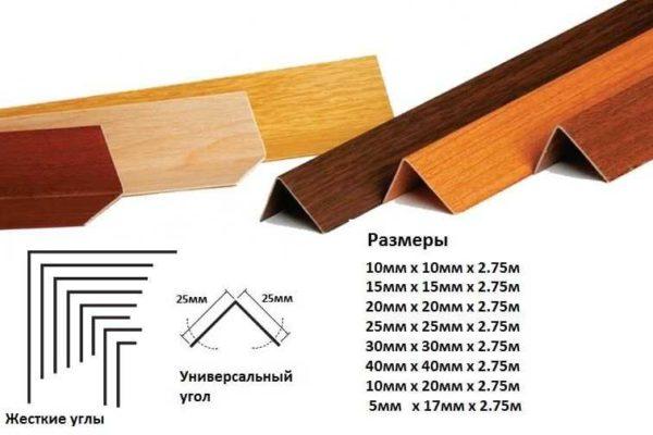 Sizes over PVC